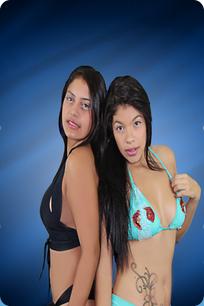 Valentina and Alexandra Escort